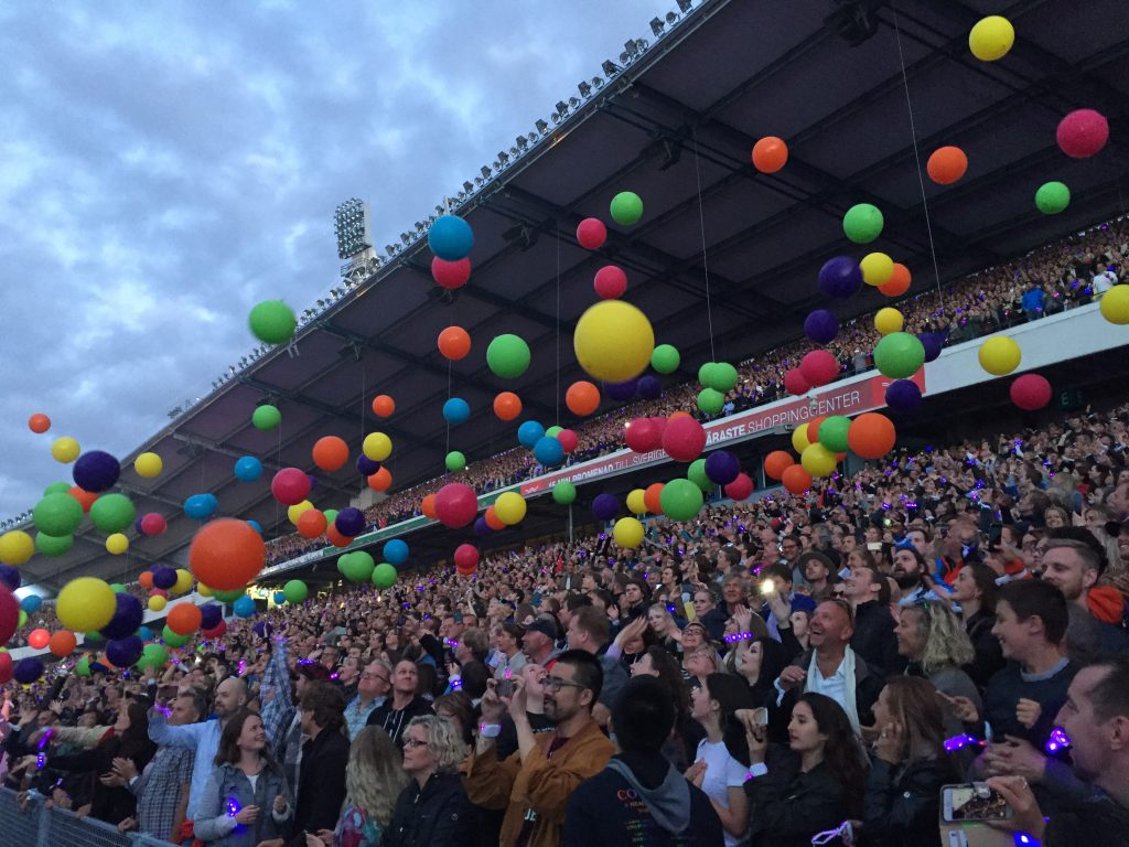 coldplay Ullevi