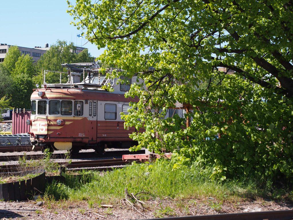 vanha junanvaunu