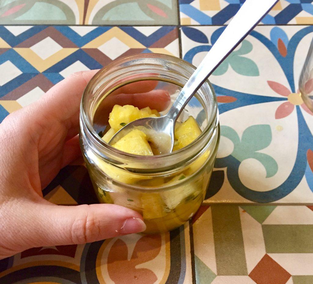vega ananasjälkkäri