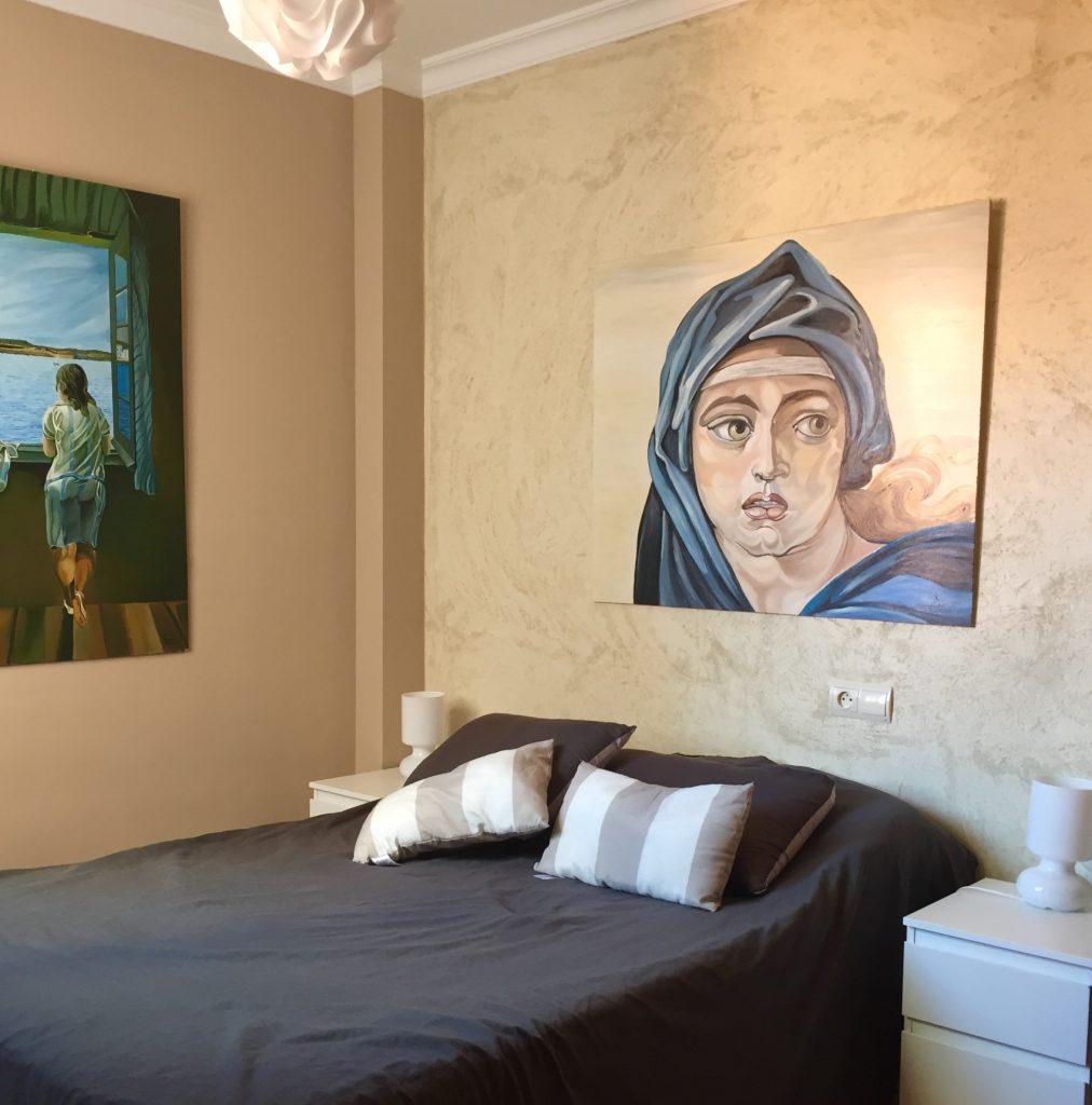 airbnb fuengirola makuuhuone