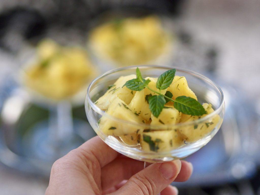 minttua ja ananasta