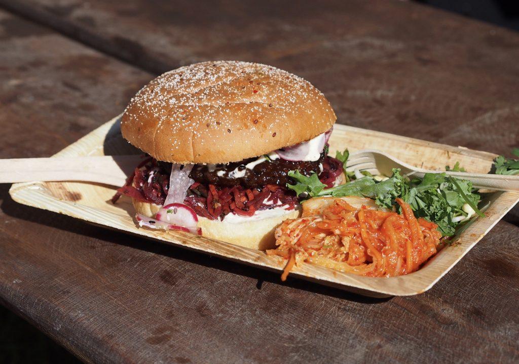flow festival korealainen burger