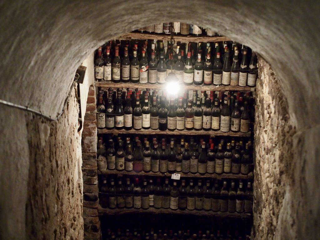 Castello di Verduno viinikellari