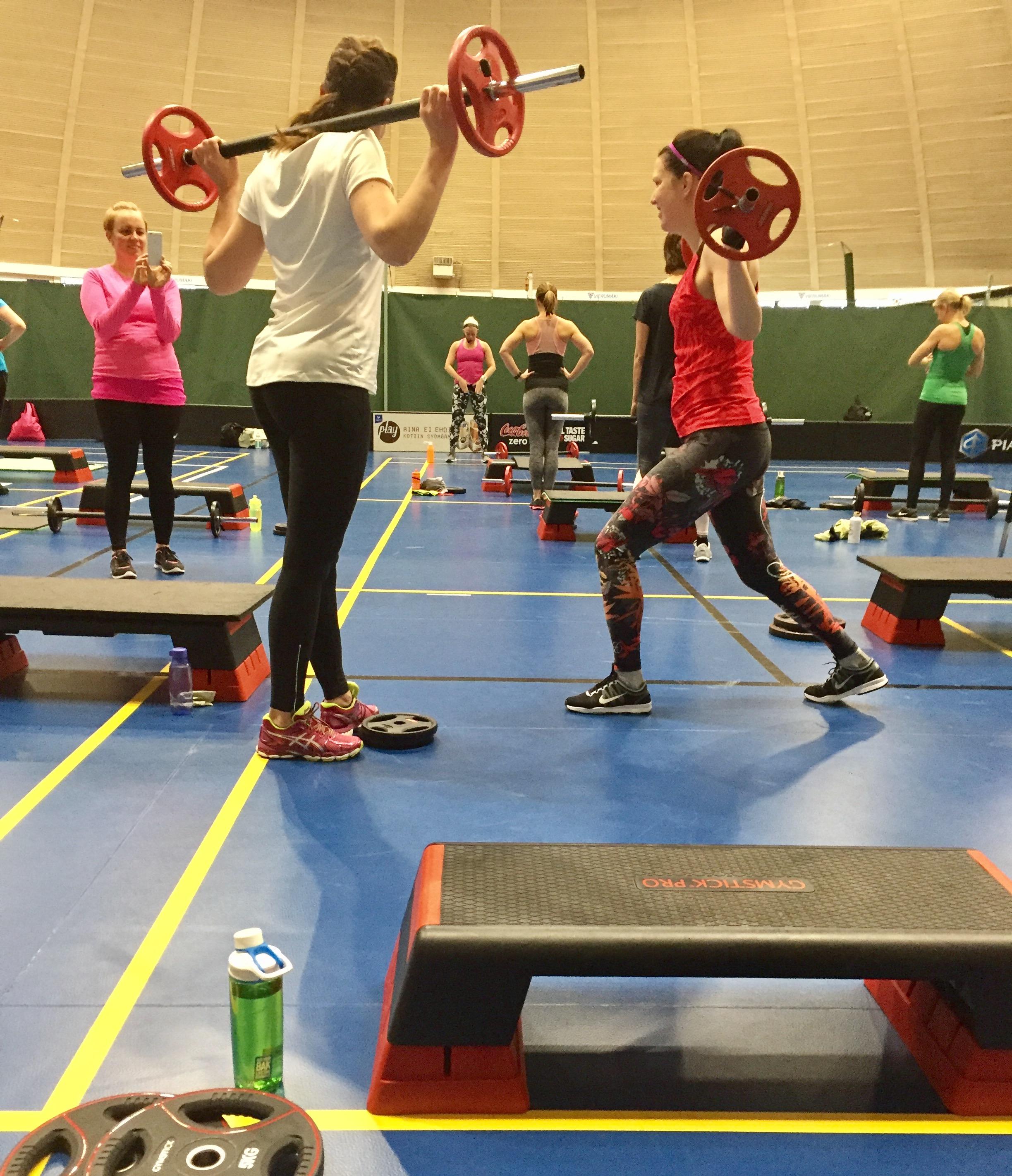 fitness-viikonloppu vierumäellä