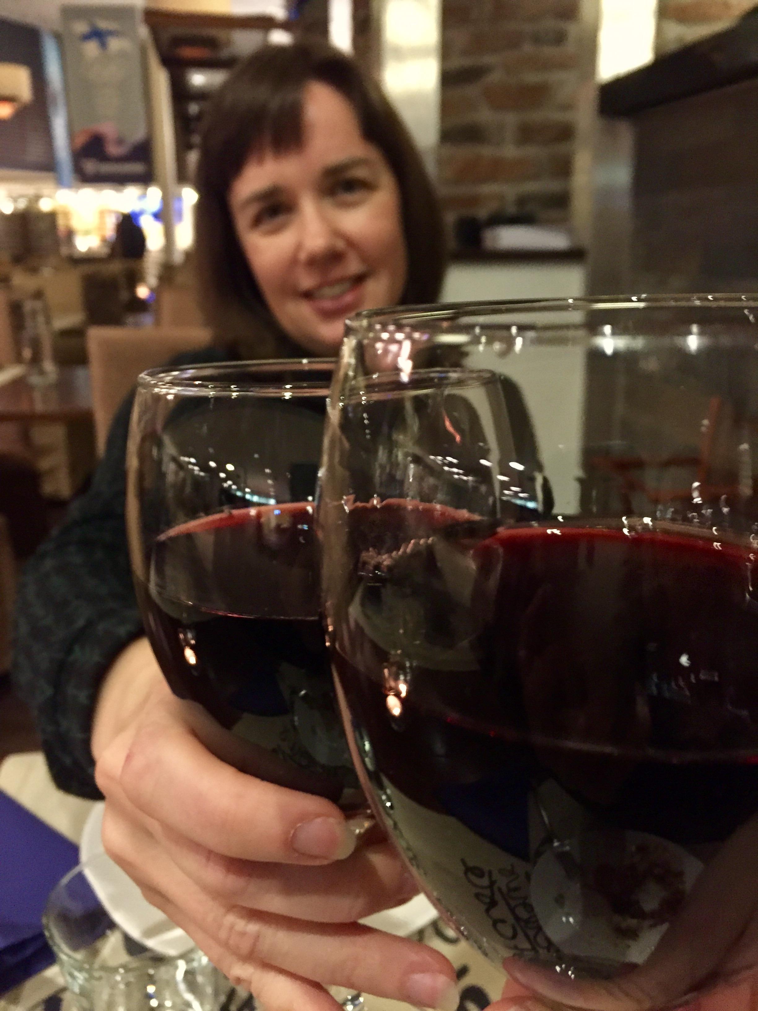 viinilasi fitness-viikonloppu vierumäellä