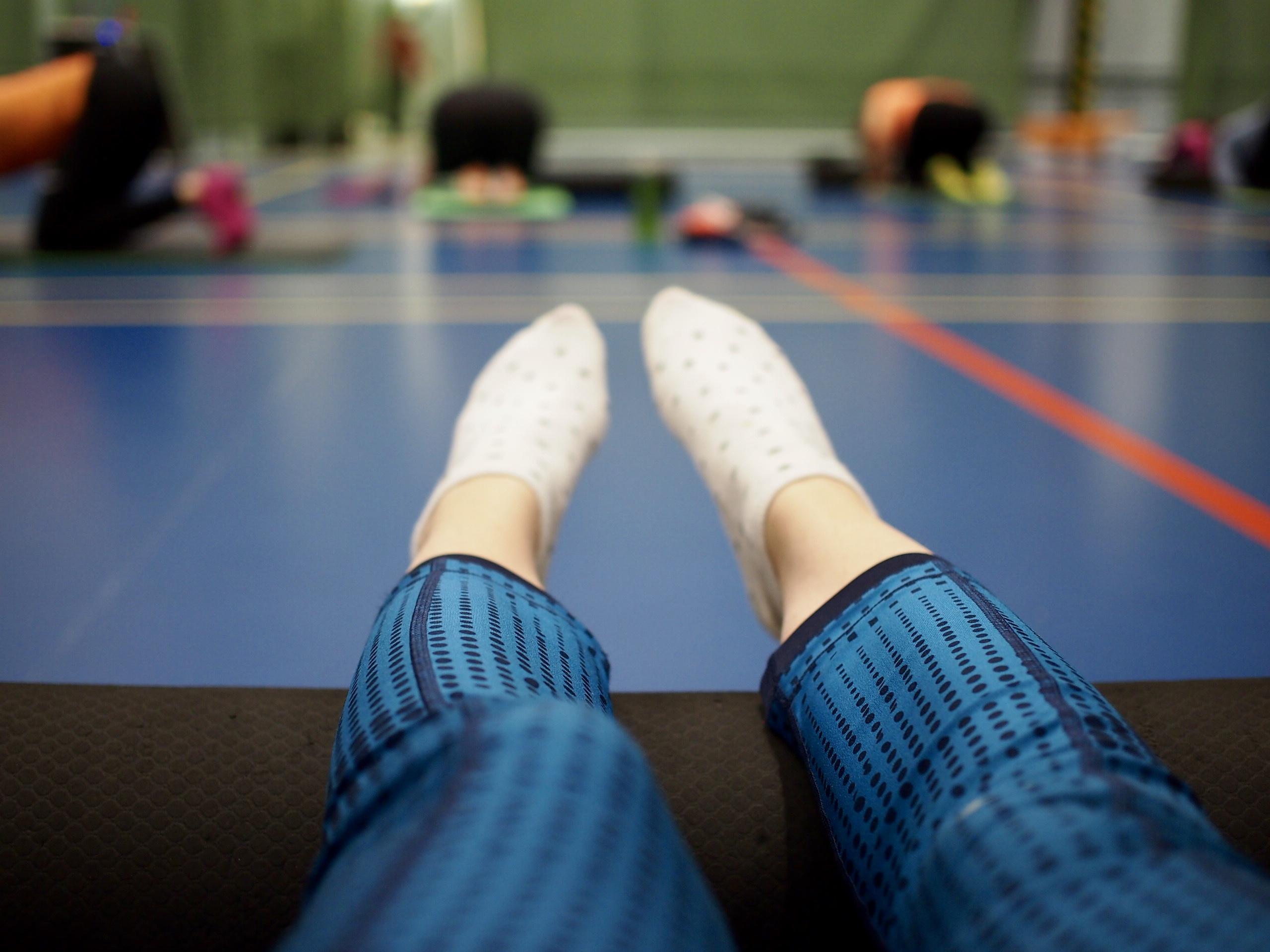 fitness-viikonloppu vierumäellä foam rolling