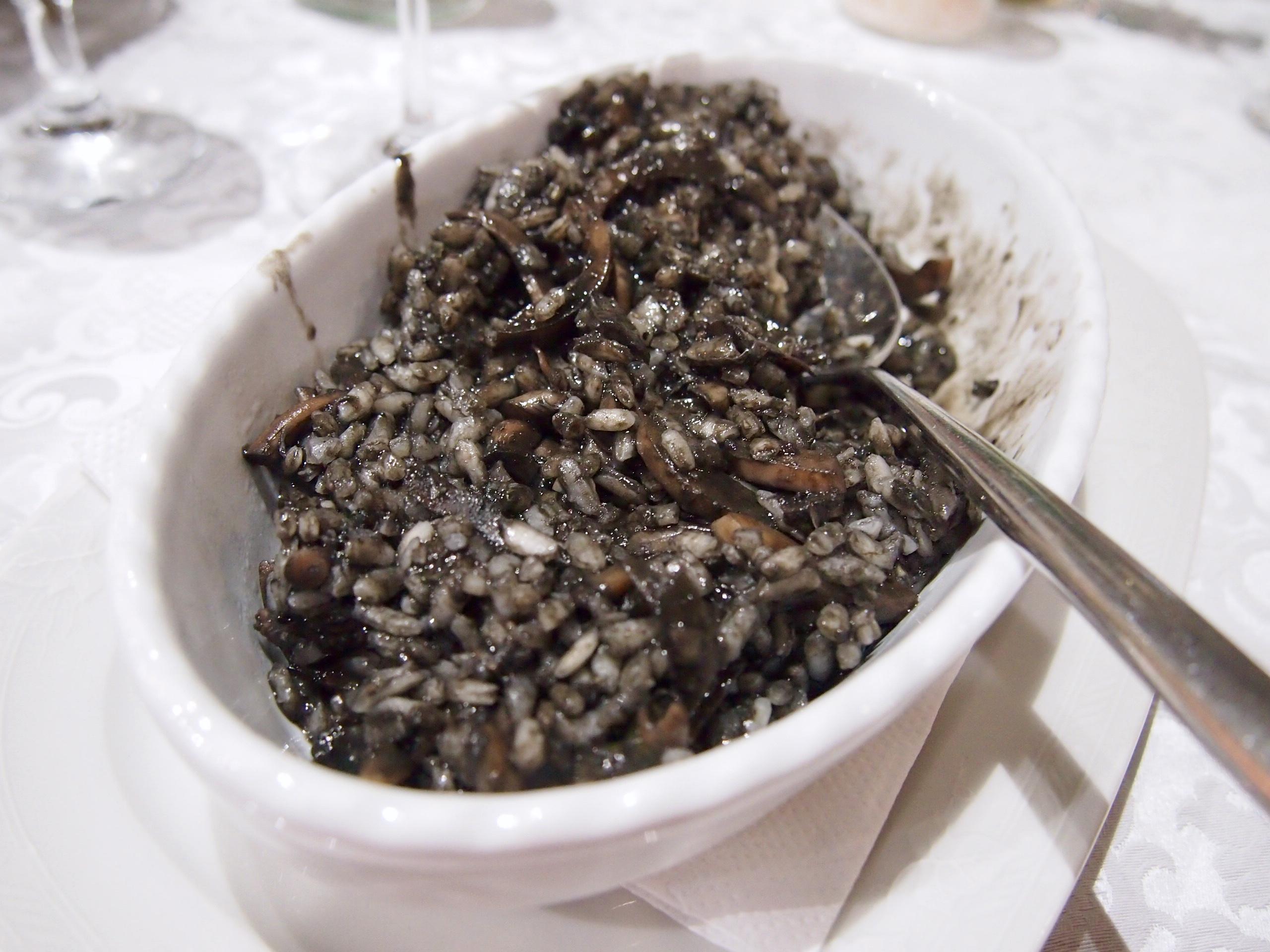musta risotto