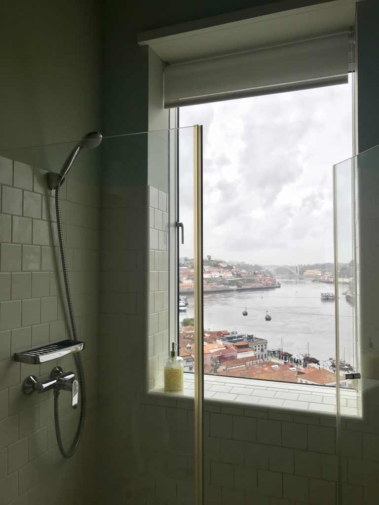 shower with a view