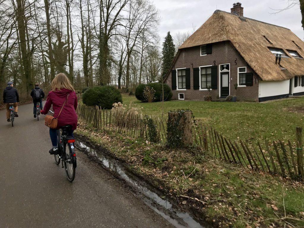 pyöräily Utrechtissa