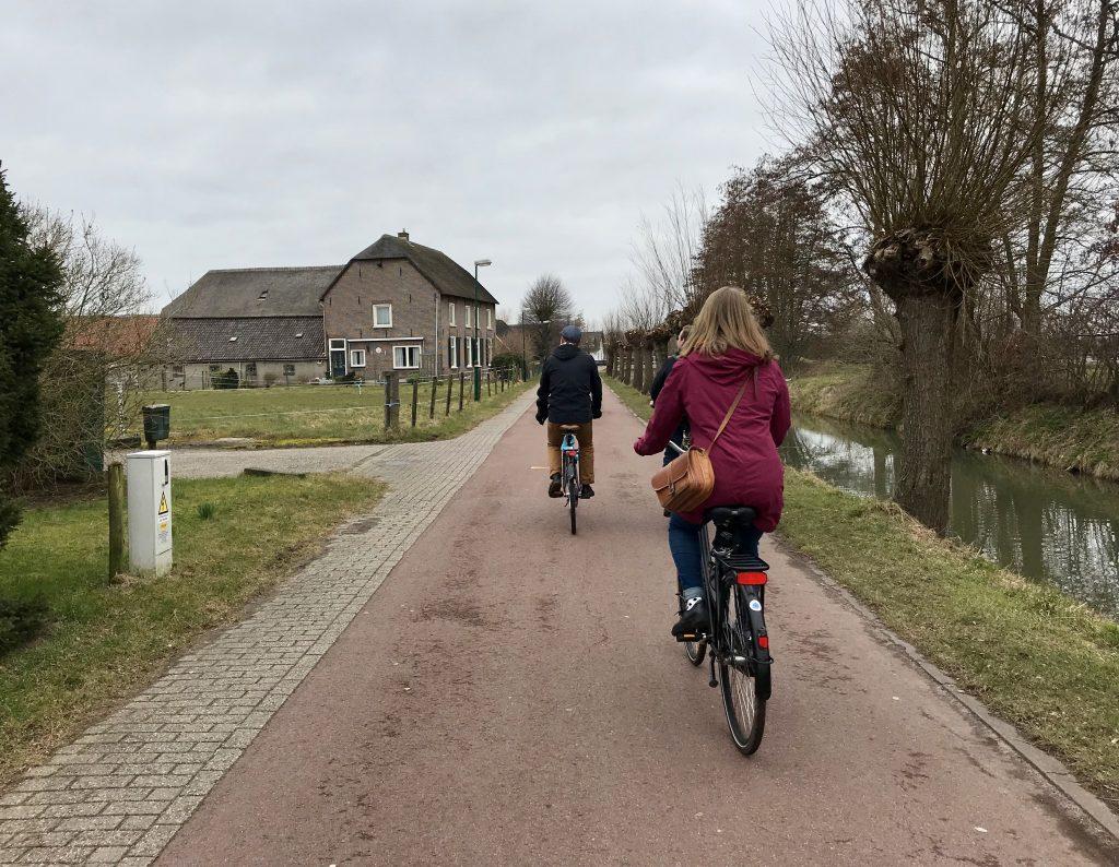 pyöräily Utrecht