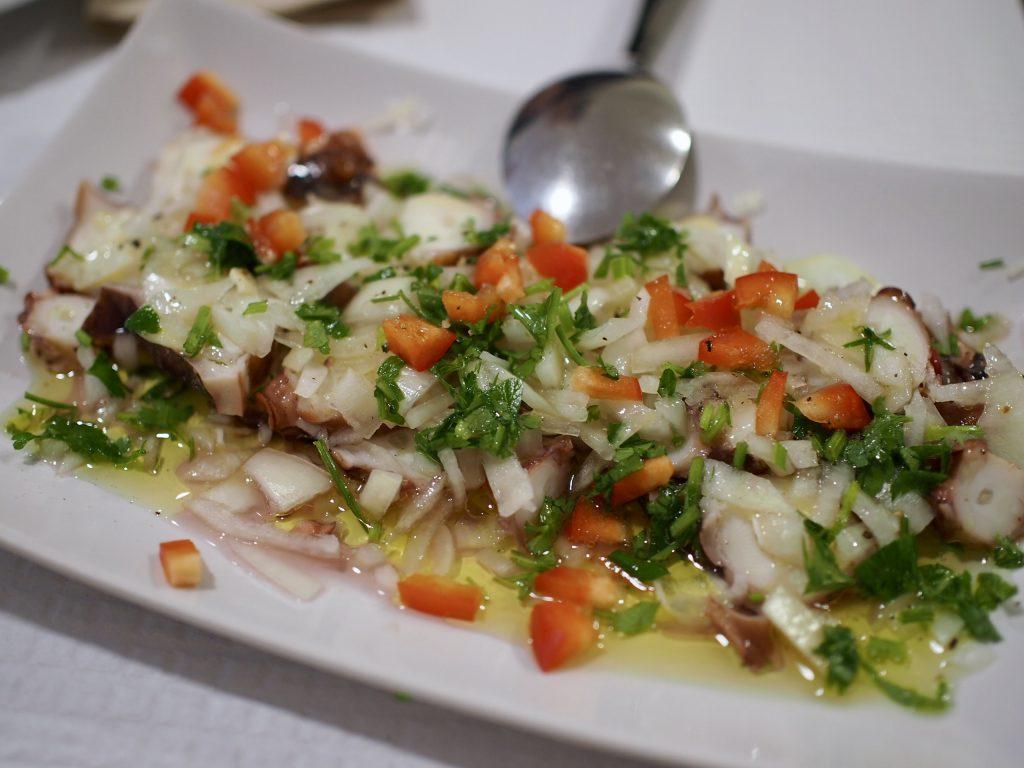 meet&taste mustekalacarpaccio