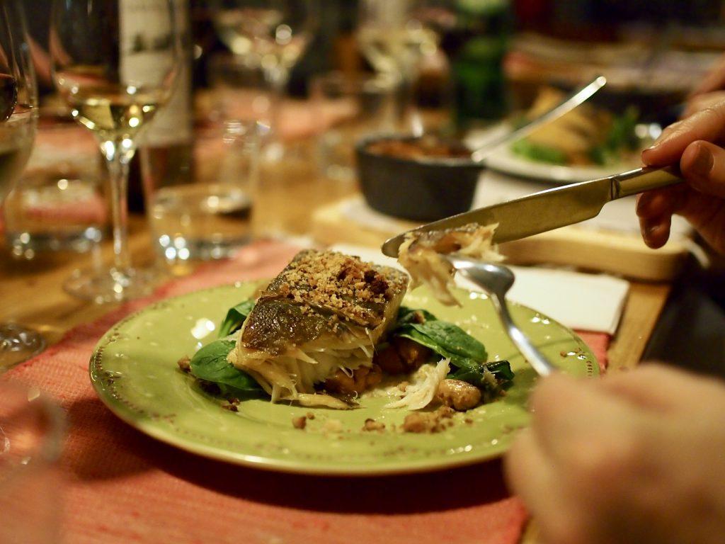 Bacalhau Porto main dish