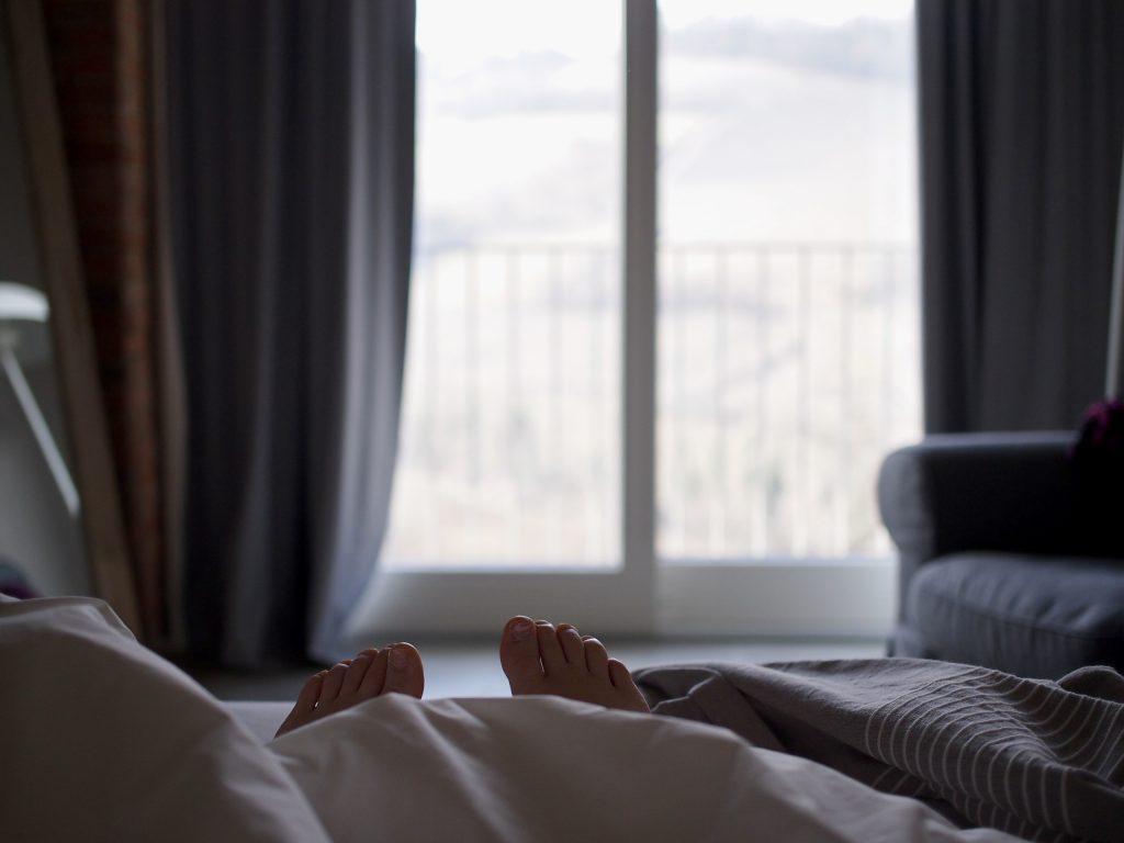 casa visette näkymä sängystä