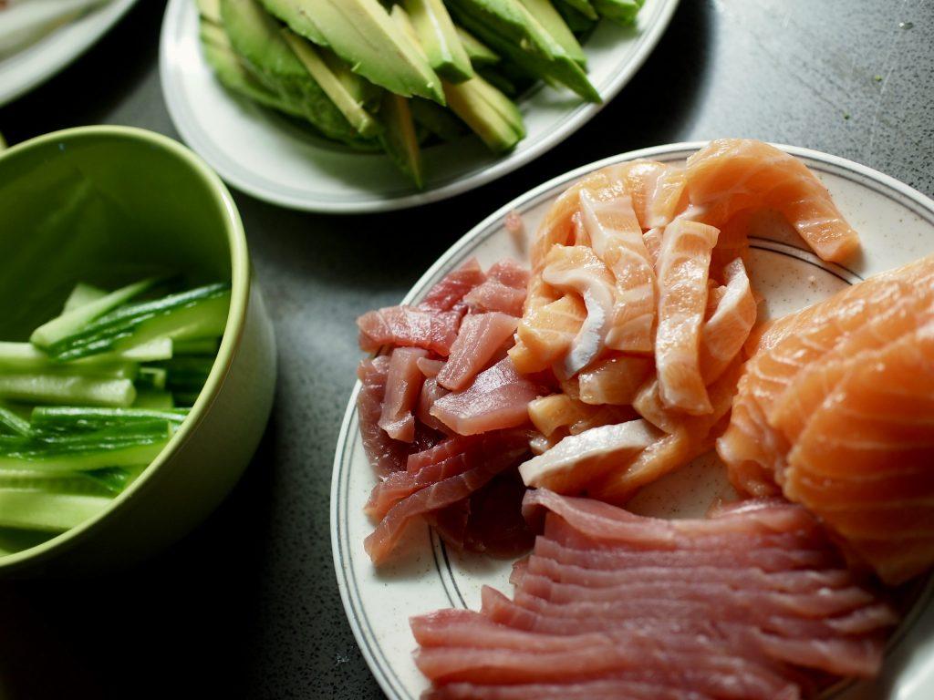 sushi-ainekset