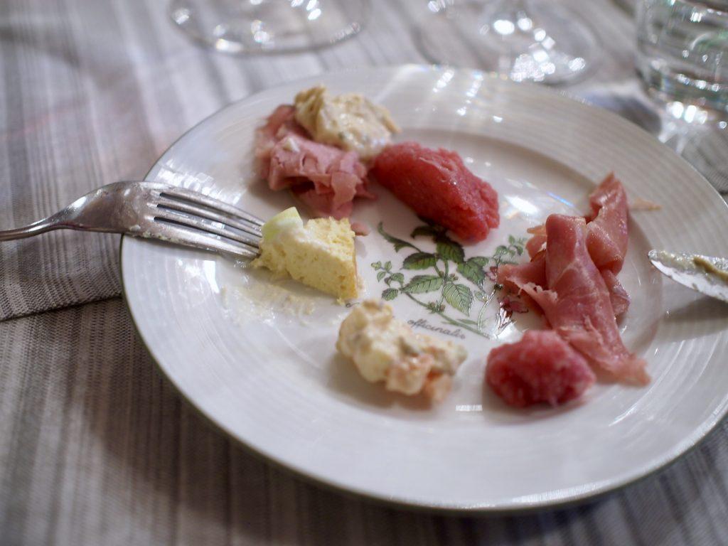 Osteria Cantinella Barolo antipasti