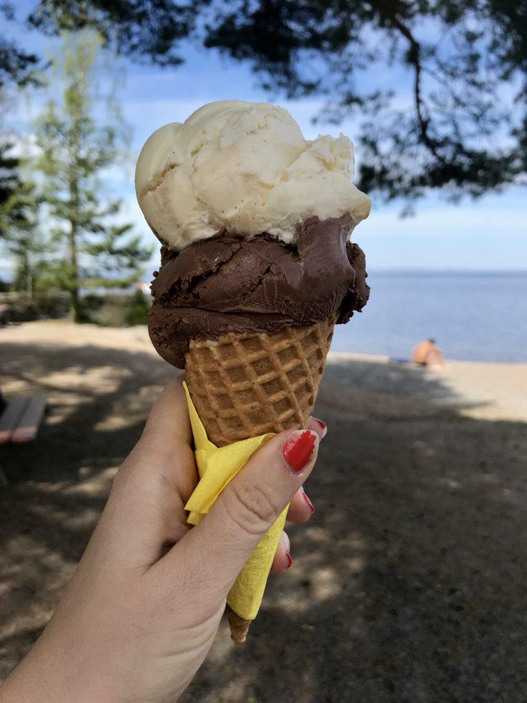 Minetti jäätelö Tampere