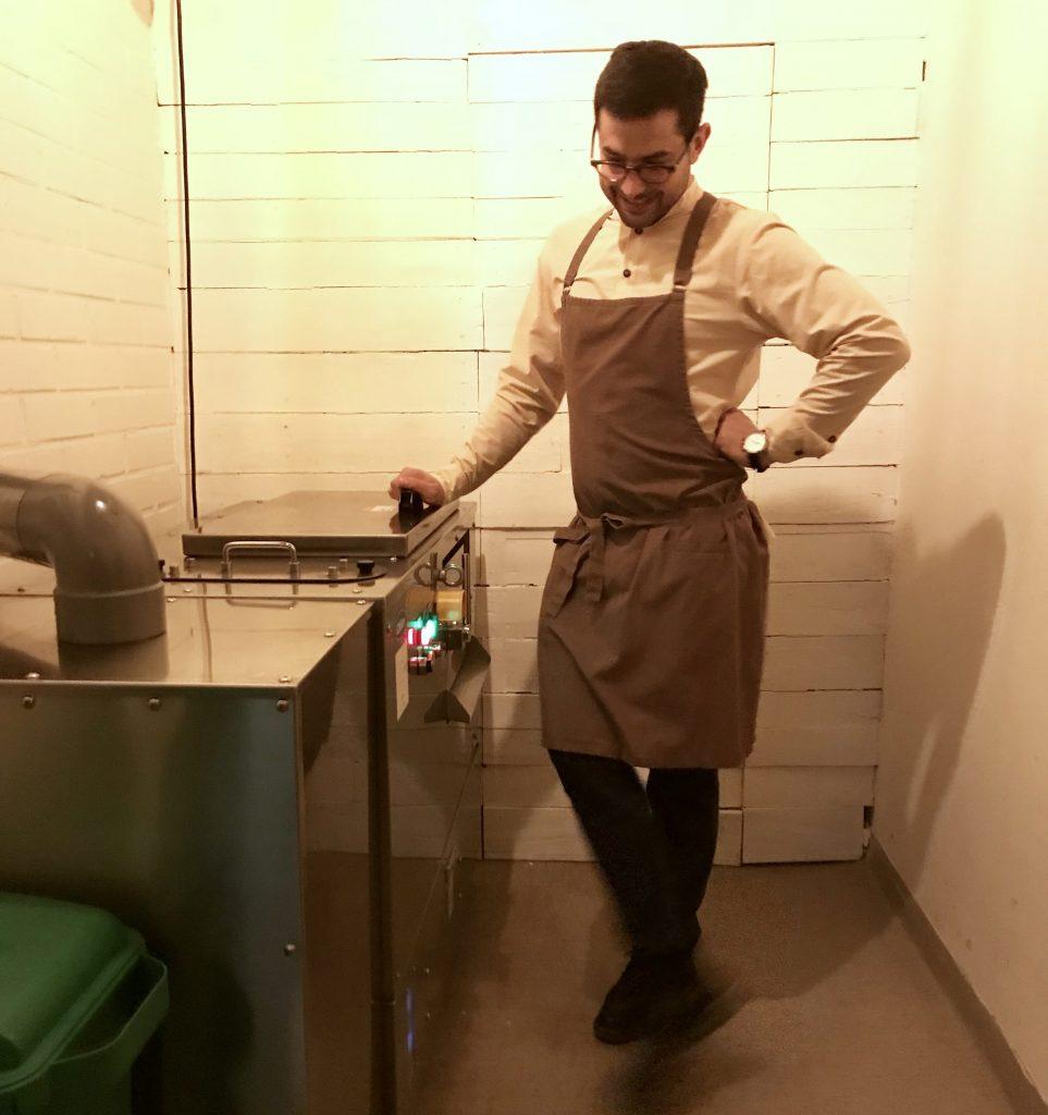 ravintola nolla komposti