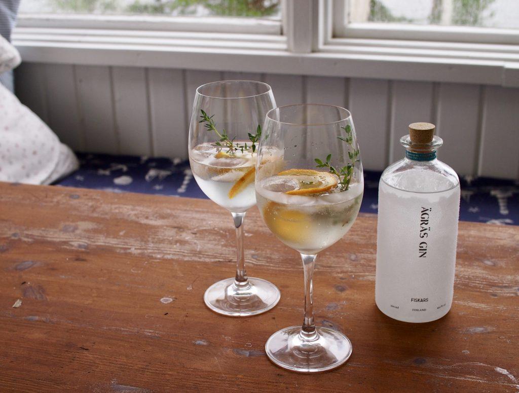 ägräs gin & tonic