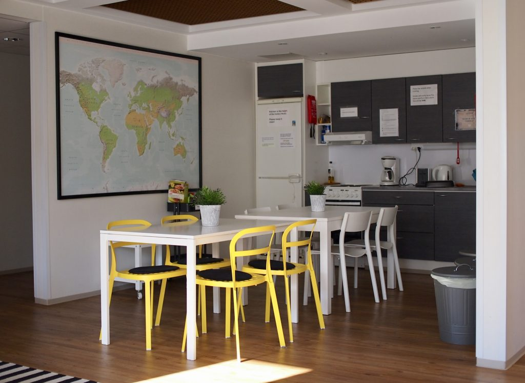 Hostel Café Koti Koti keittiö