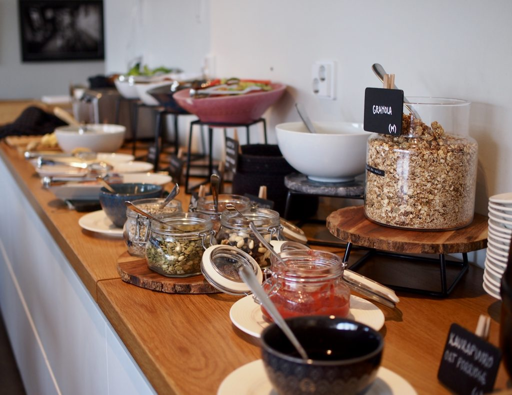 Hostel Café Koti aamiainen