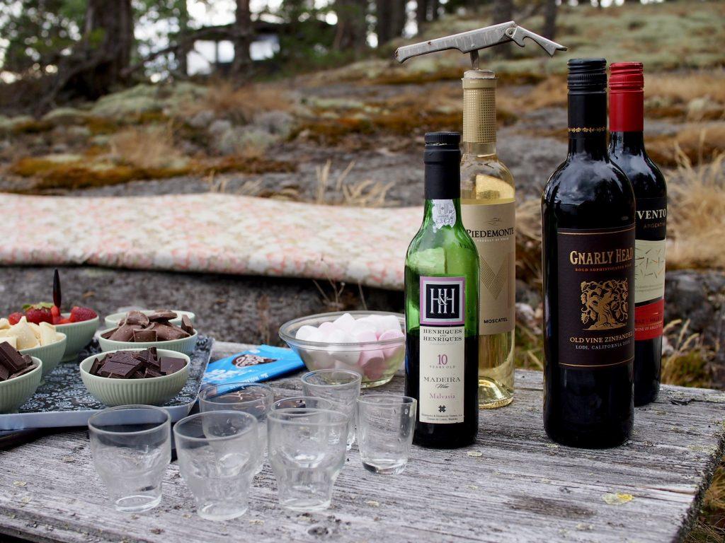viinisuklaatasting
