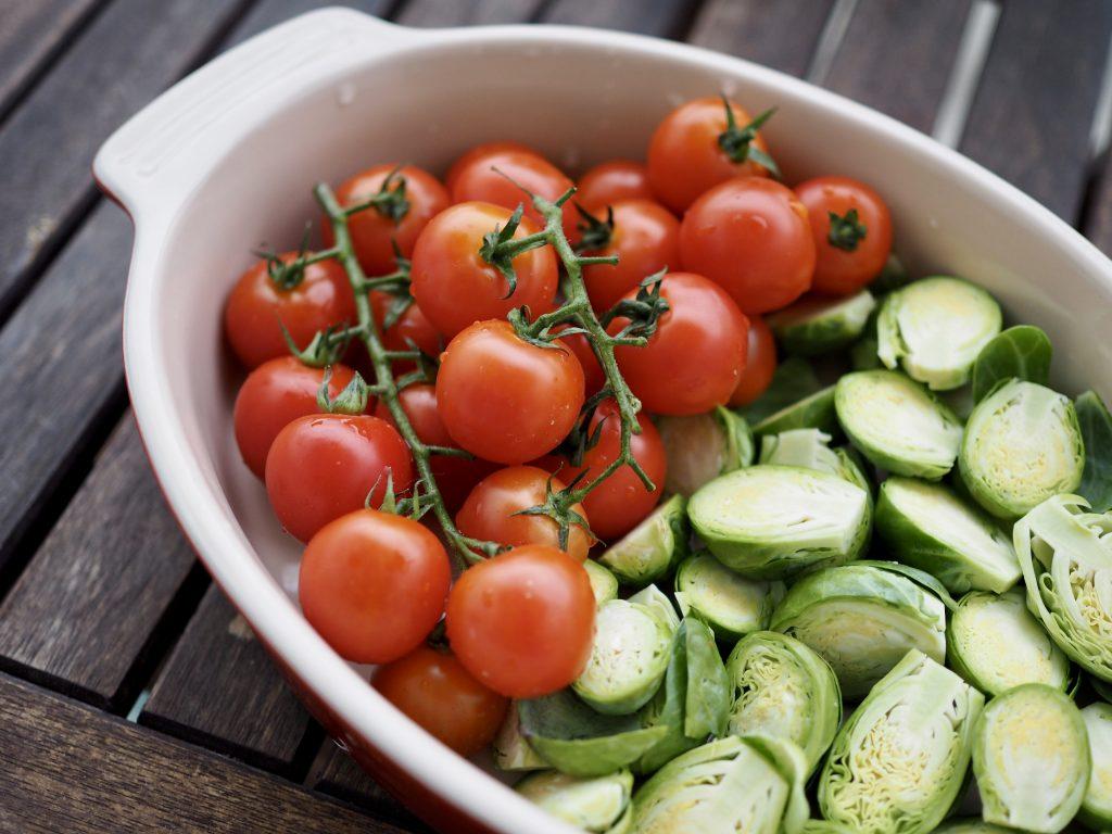 paahdetut tomaatit
