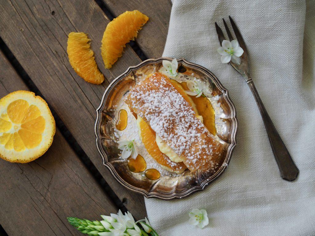appelsiininmakuinen tuhatlehtitorttu