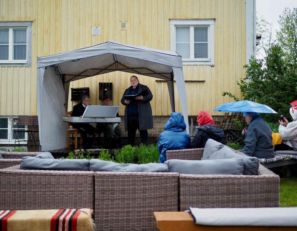 Åland grönskar